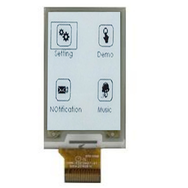 E Ink Display Panel Black And White Color Customized 2.1inch