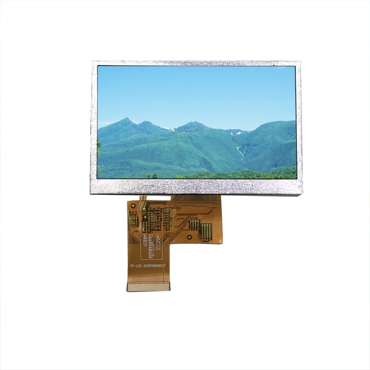 Capacitive Touchscreen LCD Display Module 4.3 Inch For Phones / MP4