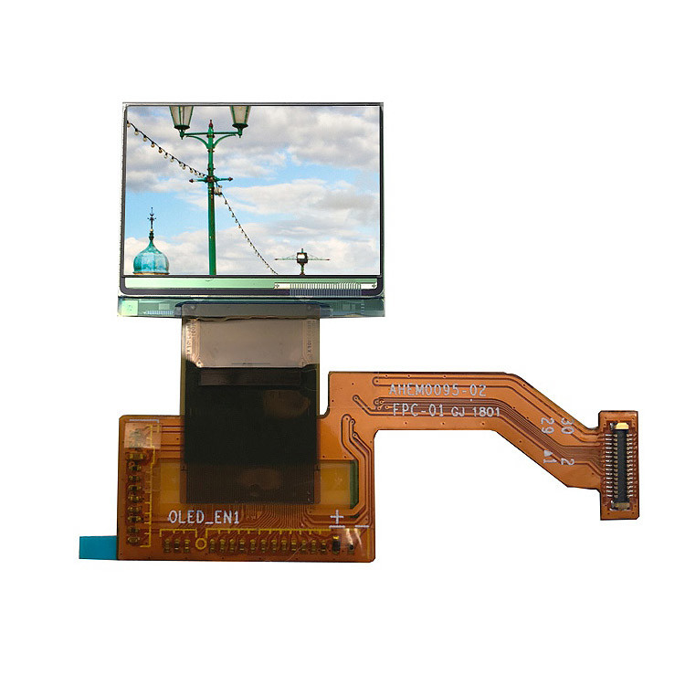 Color Thin 0.95 Inch AMOLED Display / Transmissive1 Inch Oled Display